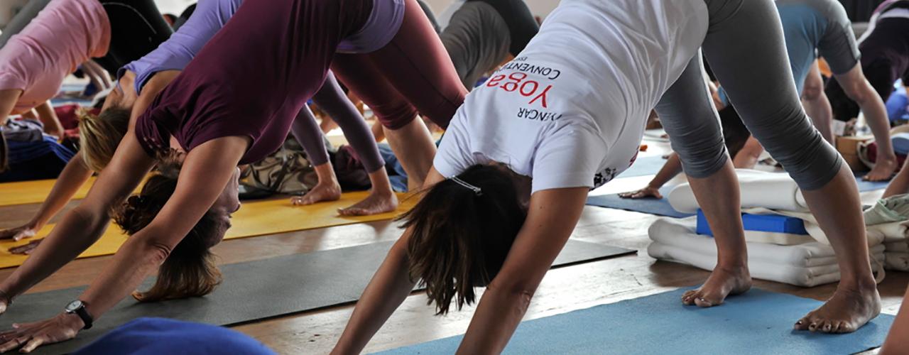 Yoga mitten in Freiburg mit Robert Kalus