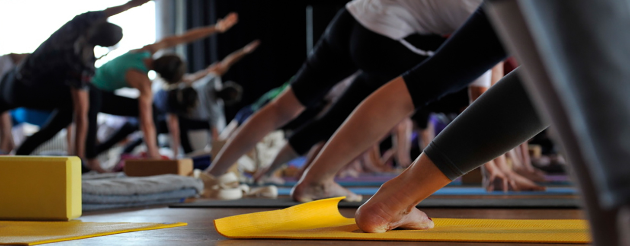 Yogaunterricht f�r Anf�nger und Fortgeschrittene